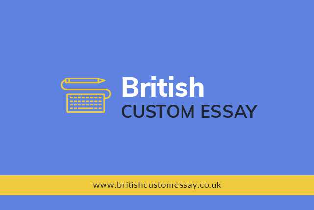 Welcome to the official blog of British Custom Essay