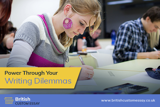 Power Through Your Writing Dilemmas