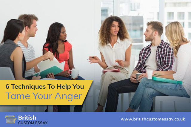 6 Techniques to Help You Tame Your Anger